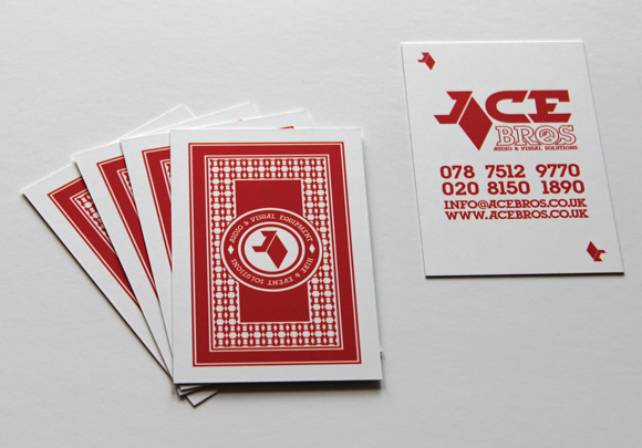ACE Bros business cards