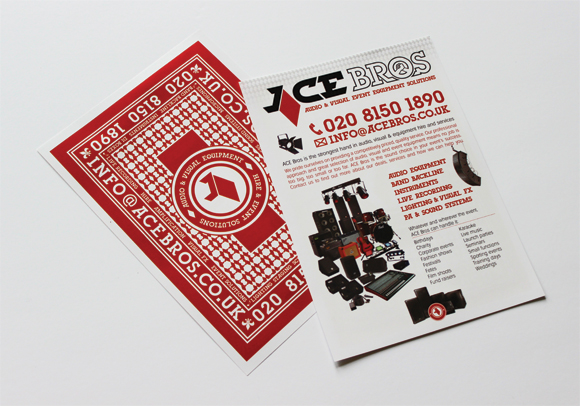 ACE Bros flyer