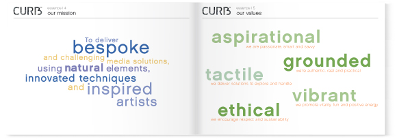 CURB brand guidelines