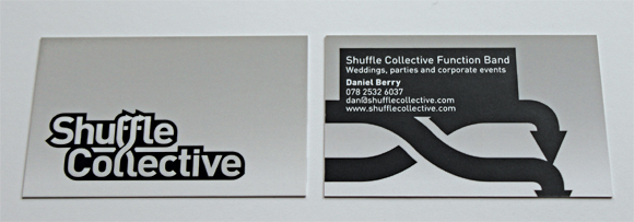 Shuffle Collective business card