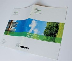 UCLB annual report cover